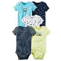 Carter's Baby Boys' 5-Pack Space Print Bodysuits Newborn