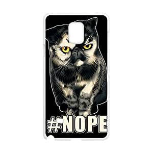 WEUKK NOPE Samsung Galaxy Note4 cover case, customized case for Samsung Galaxy Note4 NOPE, customized NOPE phone case