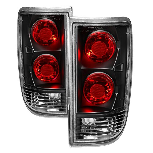 Tail Lights For 95-05 Chevy Blazer/GMC Jimmy/Oldsmobile Bravada 96-01 Euro Style ()