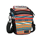 SLR/DSLR Camera Case Bag for Mirrorless , Micro 4/3 with Top Loading Accessibility , Adjustable Shoulder Sling , Padded Handle, Removeable Rain Cover & Weather Resistant Bottom by USA Gear - Southwest