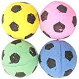 Catit 51225 Sponge Soccer Balls 4-Piece