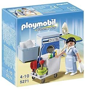 Playmobil - Servicio de limpieza, set de juego (5271)