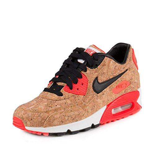 NIKE Women's W Air Max 90 Anniversary Bronze/Black-infrared Running Shoes - 8 B(M) US