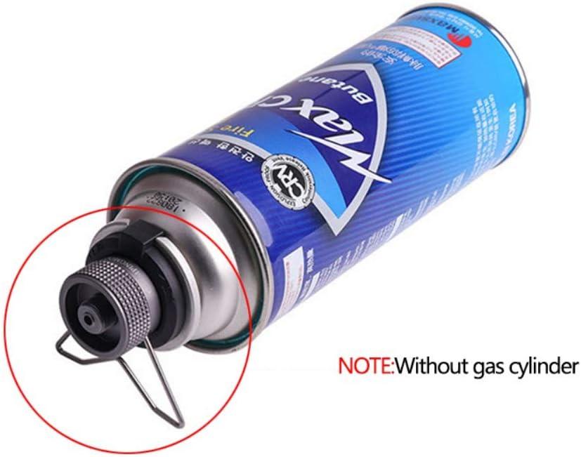 COUNTN Outdoor Camping Hiking Stove Burner Adaptor Gas Tank ...