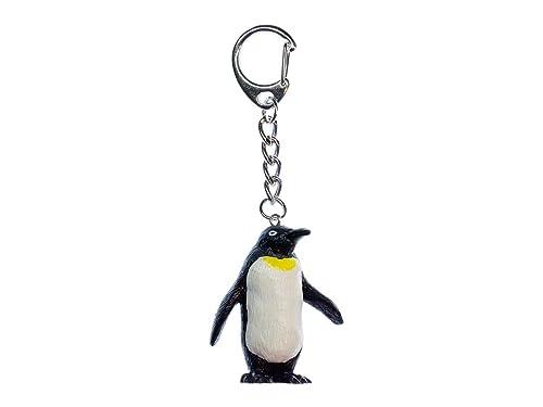 2438fef293 miniblings Pinguino imperatore Portachiavi rimorchio Antartico Pinguino  Rotonda: Amazon.it: Gioielli