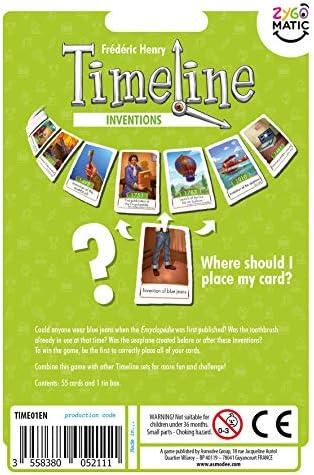 Asmodee ASMTL01INVEN Timeline Inventions Blister, colores variados , color/modelo surtido: Amazon.es: Juguetes y juegos