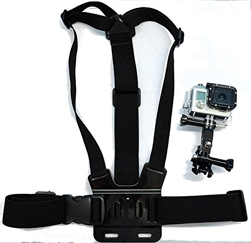 Navitech Adjustable Elastic Body Chest Strap Mount Belt Harness For The Ion 1011L Air Pro Lite Wi-Fi Camera
