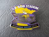 Minnesota Vikings U.S. Bank Stadium Inaugural Season 2016 Lapel Pin (new)