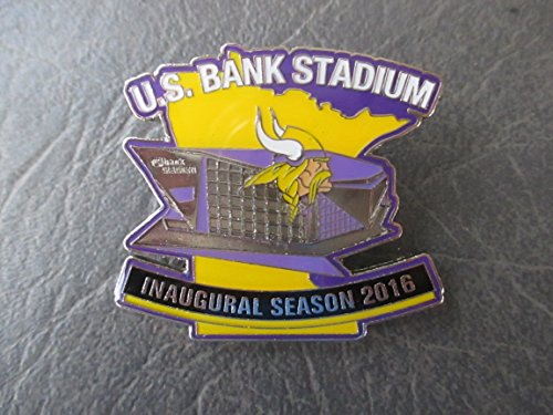 Minnesota Vikings U.S. Bank Stadium Inaugural Season 2016 Lapel Pin (new)