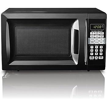 HB 700 Watt Microwave, .7 cubic foot capacity (Black)