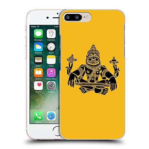 GoGoMobile Coque de Protection TPU Silicone Case pour // Q08120602 Hindou 3 ambre // Apple iPhone 7 PLUS