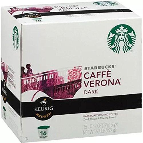 Starbucks Caffè Verona® K-Cup® Packs, 96 count, Premium Coffee Blend, Best Gourmet Coffee, Specialty Roasted Beans Espressos
