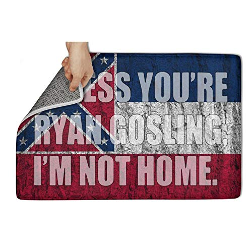 MEN45MEN Mississippi Unless You're God Or Miranda Lambert, Leave Your Boots at The Door Pet Personalized Welcome Mats Durable Entrance Rug Long time for use