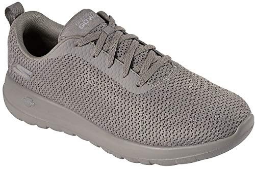 Skechers GO Walk Max Mens Walking Sneakers Taupe 10.5 (Best Skechers Go Walk)