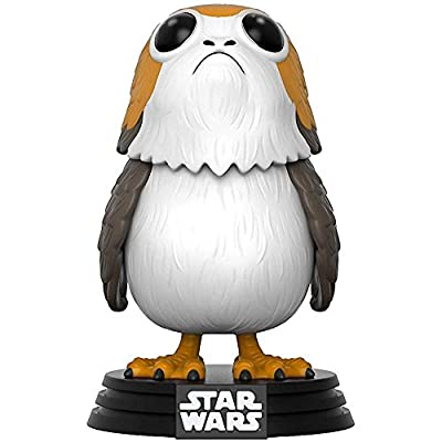 Funko Pop! Star Wars: The Last Jedi - Porg #198 Vinyl Figure (Bundled with Pop BOX PROTECTOR CASE): Toys & Games