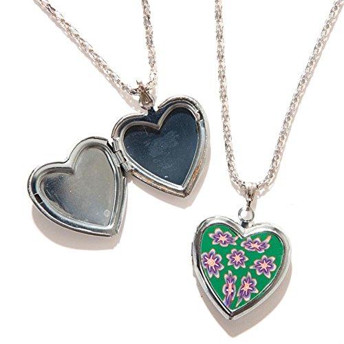 Heart Locket Necklace 1 dozen