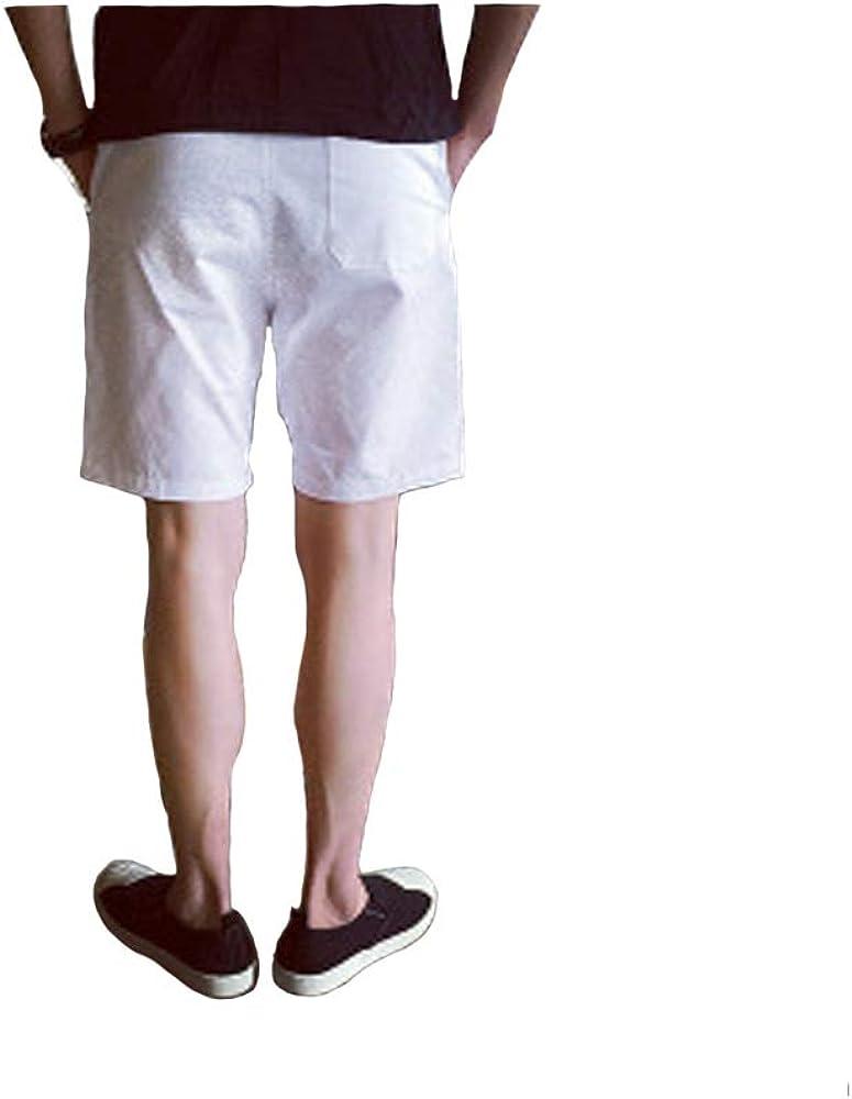 Mens Drawstring Slim Fit Walk Shorts