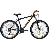 Corelli Snoop 3.2 Dag Bisikleti 24J 21V Vb 14 Kadro Siyah Neon Turuncu