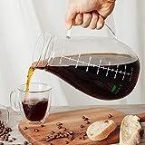 BTäT- Cold Brew Coffee Maker, Iced Coffee Maker, 2 Liter (2 Quart, 64 oz), Iced Tea Maker, Cold Brew Maker, Tea Pitcher, Coffee Accessories, Iced Tea Pitcher, Cold Brew System, Cold Brew Pitcher