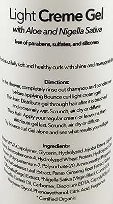 Bounce Curl Light Creme Hair Gel Lotion (8oz)