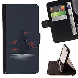 Momo Phone Case / Flip Funda de Cuero Case Cover - Antiguo Templo;;;;;;;; - Sony Xperia Style T3