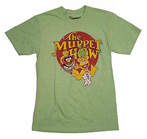 The Muppet Show Kermit Fozzie Animal Graphic T-Shirt - Medium