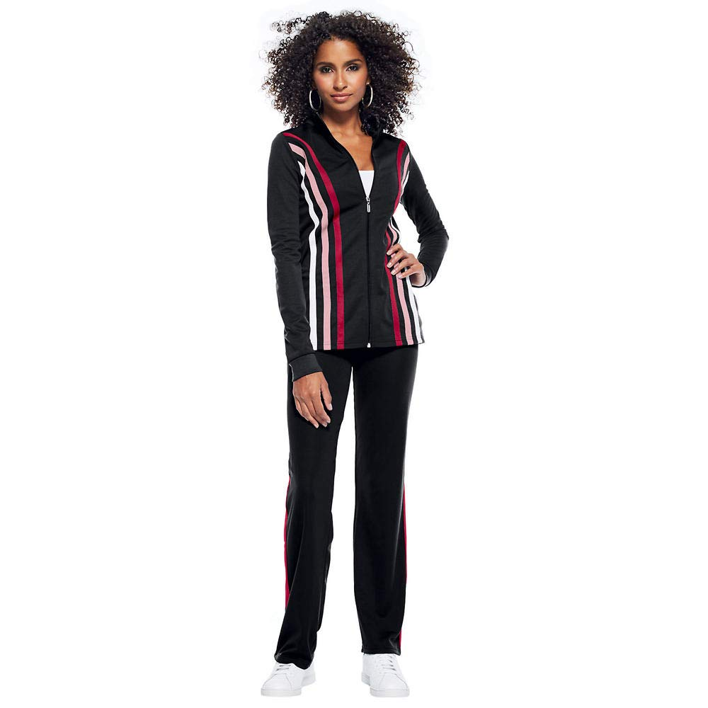 Masseys Contrast-Striped Track Suit