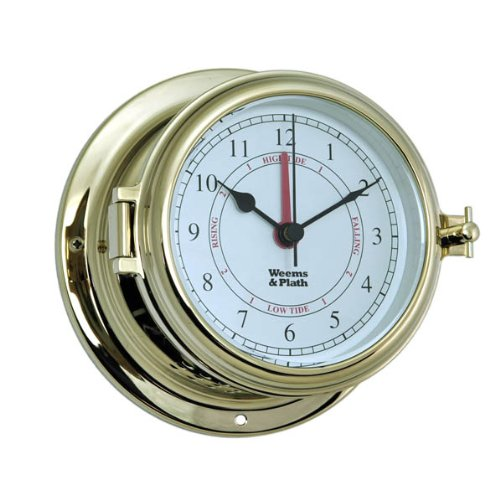 Weems and Plath Endurance II 115 Time and Tide (Function Porthole Clock)