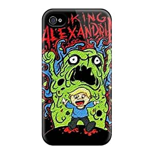 DannyLCHEUNG Iphone 4/4s Shock-Absorbing Hard Phone Cover Allow Personal Design Attractive Asking Alexandria Series [nYZ9129uFfv]