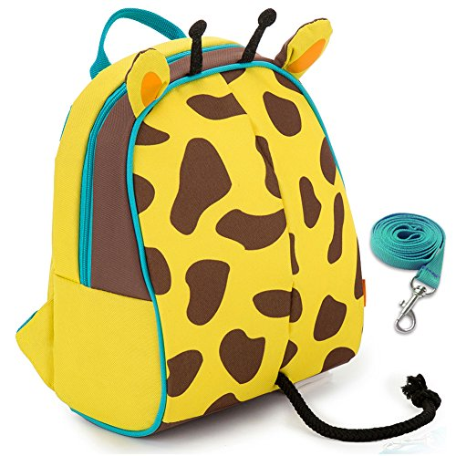 Yodo Kids Insulated Toddler Backpack - Playful Preschool Kids Lunch Bag