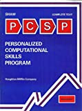 Personalized Computational Skills Program, Shaw, Bryce R., 0395290325
