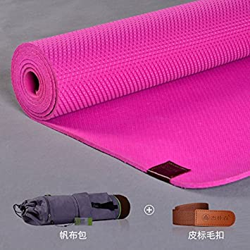 YROAR 5mm Slip Resistant Natural Rubber Yoga Mat Thick Mat ...