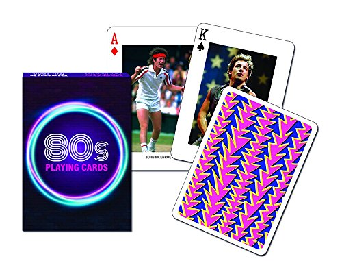 Piatnik 80s Playing Cards 1980s Themed