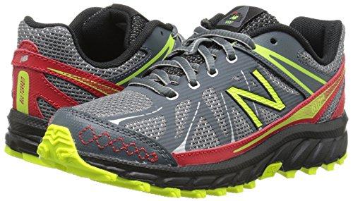 888546333864 - New Balance KJ610 Youth Lace Up Trail Running Shoe (Little Kid/Big Kid), Grey/Red, 2.5 M US Little Kid carousel main 5