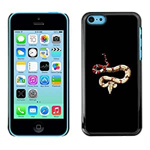 TaiTech / Hard Protective Case Cover - Species Snake Biology - Apple iPhone 5C