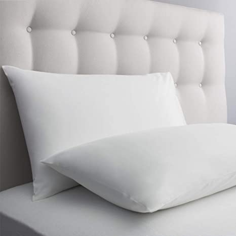 2 X FRAGRANCE PILLOW CASE LUXURY 100/% EGYPTIAN COTTON PLAIN BEDROOM PILLOW COVER