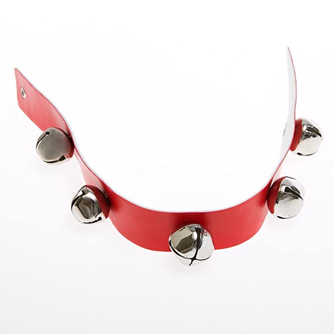 34aae438adb Image Unavailable. Image not available for. Color: Santa Sleigh Bells Strap  Decoration