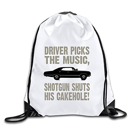 Hunson - Funny Supernatural Driver Picks The Music - Dean Martin Merchandise