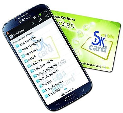 Tarjeta NFC Password Manager y Control Parental para móviles y tablets ANDROID con tecnologia NFC. Galaxy, Huawei, LG Nexus, Motorola, Xperia. OFERTA ...