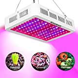 Cheap H&Grow 1000W LED Grow Light 3 Chips/Full Spectrum Grow Lamp with UV&IR for Greenhouse Hydroponic Indoor Plants Veg and Flower All Phases of Plant Growth(15W LEDs)