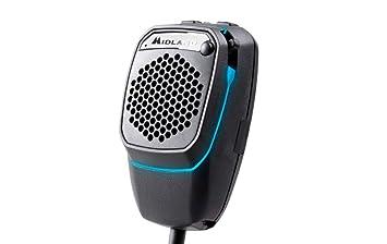 Midland DUALMIKE 6 Pin Bluetooth and CB Microphone: Amazon co uk