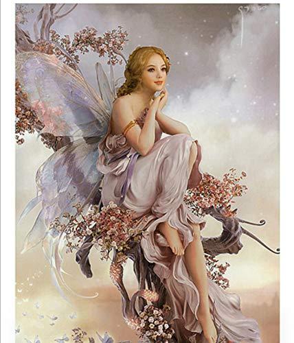 Malen Nach Zahlen Für Junior Für Erwachsene Erwachsene Erwachsene Engel Weibliche Eleganz Malen Nach Zahlen Set Home Decor DIY-Framed B07PZ82WGX | Haben Wir Lob Von Kunden Gewonnen  6940f3