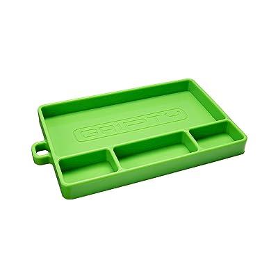 Gripty | Flexible Tool Tray | Multi Purpose Mat | Portable Tool Box Organizer | No Magnets | Easy Clean Up | (Medium-Turbo Green): Home Improvement