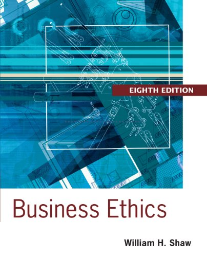 Download Business Ethics: A Textbook with Cases Pdf