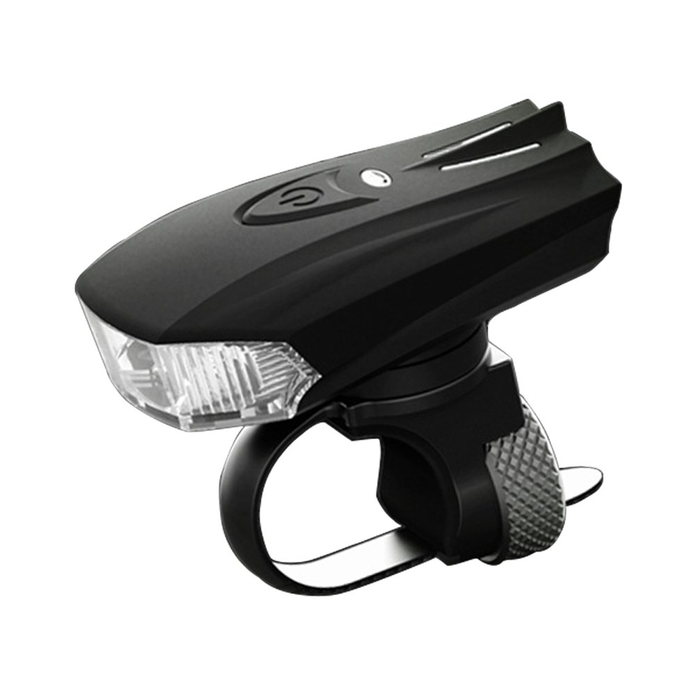 MACHFALLY USB Rechargeable Bike Light 1200mAh StVZO Mount Bicycle Headlight LED Waterproof Front Torch Night Mountain Cycling Flashlight Easy to Install Remove for Safe Cycling