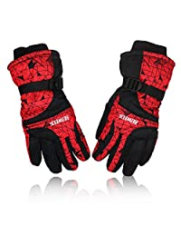 YUEDGE Men's And Women's Windproof Snowproof Ski Snowboard Motorcycle Gloves Winter Snow Warm Gloves