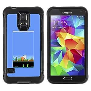 LASTONE PHONE CASE / Suave Silicona Caso Carcasa de Caucho Funda para Samsung Galaxy S5 SM-G900 / pc retro gaming game 80's vintage
