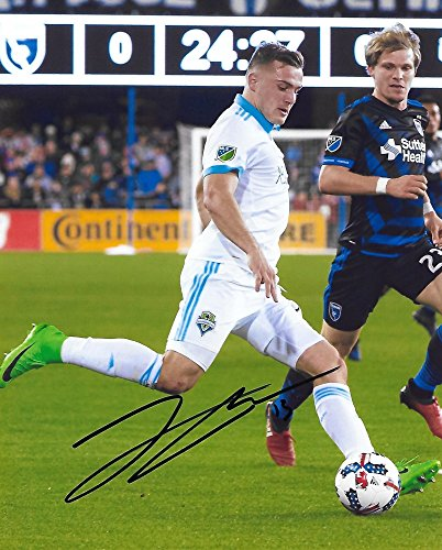 Jordan Morris, Seattle Sounders FC, Signed, Autographed, 8X10 Photo, a Coa with the Proof Photo of Jordan Signing Will Be Included,.