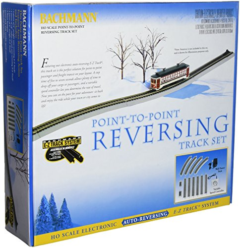 (Bachmann Trains Nickel Silver E-Z Track Reversing System-Ho Scale)