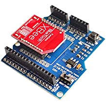 HC-06 RF Wireless Bluetooth Bee V2.0 Module + Xbee V03 Shield Board For Arduino